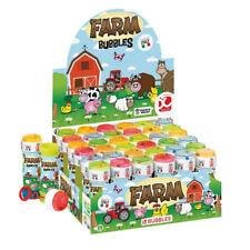 Bauernhof Tiere Jungen Mädchen Bubble Blowing Wannen Kinderzimmer Garten Party Tasche Füller
