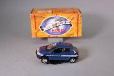 ZT628 NOREV voiture 1/43 Peugeot 206 gendarmerie 1998