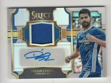 2017-18 Panini Select Soccer Jersey Auto card :Diego Costa #13/30
