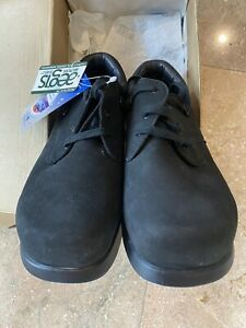 DREW Krissy  - Womens 8.5W  Black Orthotic Comfort Shoes
