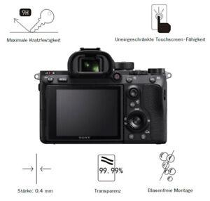 Sony A7R Mark III 0,4 mm Adhäsion Displayschutzglas Schutzfolie LC7686