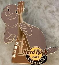 Hard Rock Cafe HONOLULU WAIKIKI 2014 SEAL with Vintage Ukulele PIN - HRC #81090