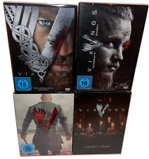 Vikings-Season/Season 1,2,3 + 4.1 [DVD] 12-disc, German (he) Sound