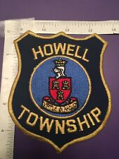 HOWELL NEW JERSEY  POLICE  SHOULDER PATCH