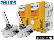 Philips D3S HID Standard Headlight Bulbs w/ COA label OEM 4300K 42302C1 X2 Bulbs