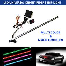 Multi Color 48 LED RGB Flash Car Strobe Knight Rider Kit Light Strip 22 inch