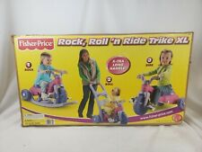 Big Wheel Trike  Tricycle  pink Ages1 1/2 to 5 Toy  Girl 3 Wheeler open box