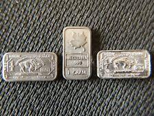 Rare Metal Bullion Bars Indium, Columbium and Niobium with Protective Capsules
