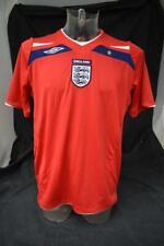 Mens England Football Shirt 2008-2010 Size Large Lot BB83