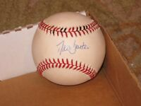 David Justice Autographed Baseball