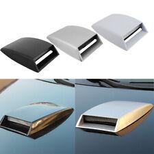 Auto Car Decorative Air Flow Intake Hood Scoop Vent Bonnet Base Cover Universal