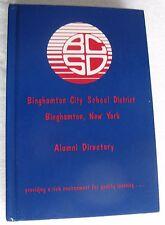 "1998 ""Binghamton NY School District Alumni Directory"",  549-page hard cover book"