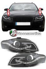 Fari Fanali Anteriori DayLine Audi A4 8E B7 (04-08) Nero MCP