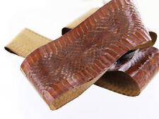Peau de serpent brun