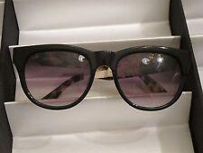 a0b1fbdab7ee Sama Sunglasses, Marlowe Black/Tortoise, Sz 53, NWOT, Retail $425