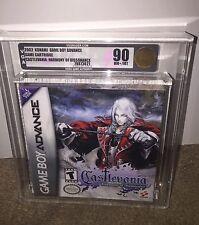 Castlevania: Harmony of Dissonance VGA 90 GOLD! MINT! Nintendo Game Boy Advance