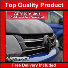 VW T5 T5.1 TRANSPORTER 10-15 BONNET BRA PROTECTOR COVER CHEQUERED CHECKER BOARD