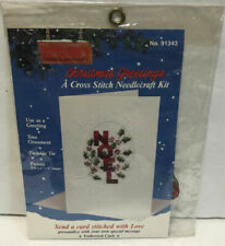 unopened 1995 Stitch and Send = thinking of you sealed cross stitch card kit cross stitch kit