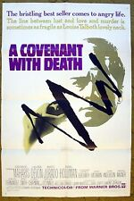"""Never Talk too Big or Beat your Wife """"A COVENANT WITH DEATH"""" movie poster"""