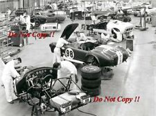 Shelby Cobra & GT40 & Mustang GT350 1960's Shelby Race Factory Photograph 1