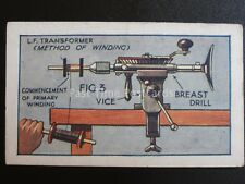 No.37 L.F. TRANSFORMER How to Make a Valve Amplifier by Godfrey Phillips 1924