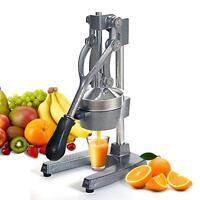 Gray Hand Press Fruit Juicer  Pro Manual Citrus Juice Squeezer For Citrus Lemon