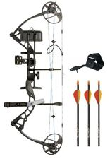 New Diamond Infinite Edge Pro LH 5-70# BlackOps Bow Package w/ Arrows & Release