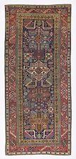 Large Antique Caucasian Shirvan Akstafa Rug, Very Good Condition, ca 1870