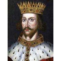 Henry V King of England Portrait 6x5 Inch Print
