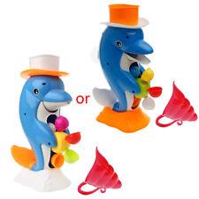 Cute Dolphin Bath Shower Wheel Baby Kids Water Spraying Tool Bathroom Toy Gift