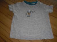 Kurzarm T-Shirt Gr. 86/92