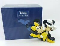Disney Enesco Showcase Dancing Mickey and Minnie Mouse Figurine Salsa w Box