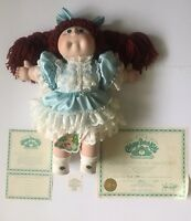 """@1985 Porcelain Cabbage Patch Limited Edition 16"""" Collector Doll Xavier Roberts@"""