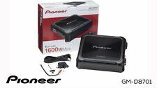 NEW Pioneer GM Digital Series GM-D8701 1600 Watt Monoblock Class D Car Amplifier