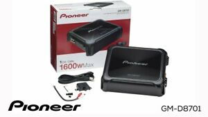 NEW Pioneer GM Digital Series GM-D8701 1600 Watt Monoblock Class D Car Amplifier
