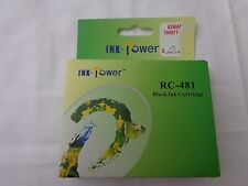 Ink Power RC-481 Black Ink Cartridge--Expired