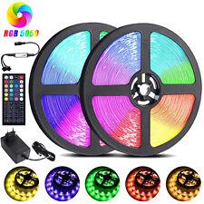 RGB LED Band Streifen Stripe Leiste Licht 12M 5050 SMD Lichterkette Dimmbar 24V