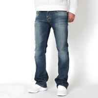 Nudie Herren Regular Fit Bootcut Stretch Jeans Hose | Regular Alf Cold Wash