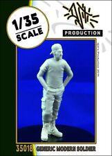 1/35 Scale Resin kit - Generic modern Soldier military model kit