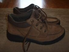 TIMBERLAND Trekker Brown MocToe Oxford Shoes Boys Size 4.5