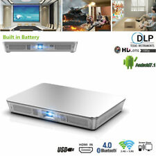7500 Lumens DLP Android Full HD 1080p Smart Home Theater Projector Wifi HDMI SD