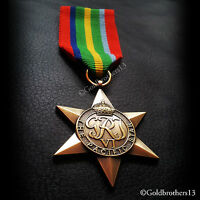 Pacific Star Medal WW2 British Army Commonwealth Military Medal New Repro.