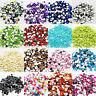 1000 Crystal Flat Back Acrylic 1.5mm Rhinestones Gems Beads Crafts Card Making