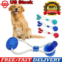 Dog Toy Floor Suction Cup with Ball for Cat Pet Teeth Cleaning Chewing Playing