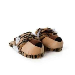 Haus-schuhe Plüsch-tier lustige Tiger Löwe Pantoffeln kuschelig von funslippers