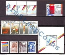 Armenia Armenien Arménie MNH** 1992 Complete Full Year Set All First Stamps