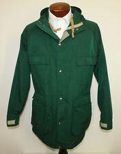 Woolrich Mountain Parka Vintage Spruce Green Waist Cinch Hood 1527 Mens Large