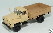 1/43 DIP MODELS 105201 russian GAZ 52 04 flatbed truck beige 1983 USSR CCCP NIB