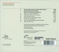 NEW Brahms: Ein Deutsches Requiem (Audio CD)