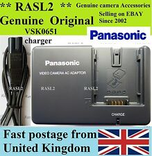 Genuino, originale Panasonic VSK0651 CARICABATTERIE NV GS 120 27 33 35 37 44 140 150 180